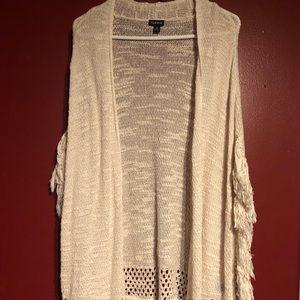 TORRID cream colored sweater